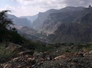 Beeindruckende Bergkulisse auf dem Jabal Akhdar