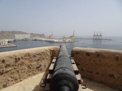 Ausblick Muttrah Fort