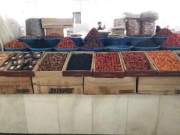 Getrocknete Früchte im Bazar