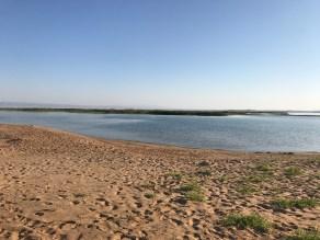 Kyzlkum und Aydar Kul See