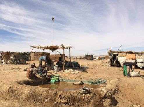 Wasserstelle Sudan