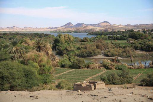 Nildelta im Sudan