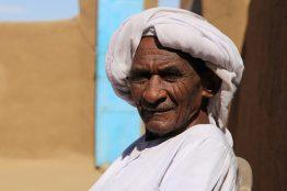 Menschen im Sudan