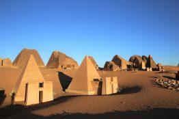 Pyramiden in Meroe, Reisesicherheit in Sudan