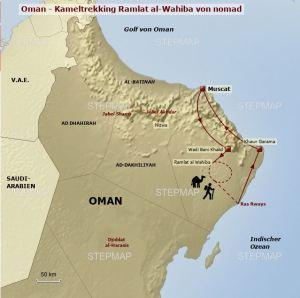 Reisetyp, Kamele in der Wüste
