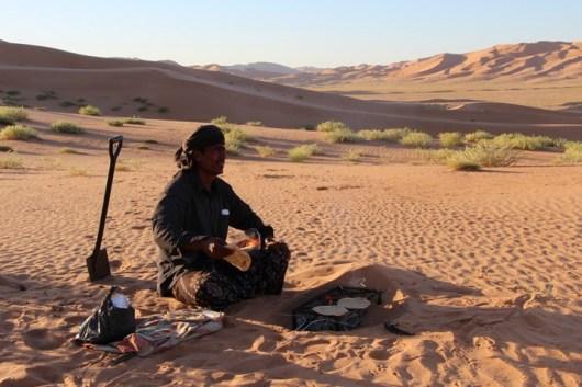 Reiseleiter Hassan in der Rub al Khali
