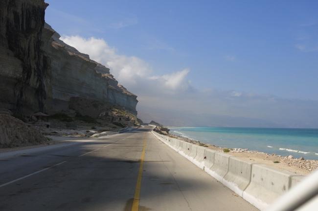 entlang der Küste nach Muscat