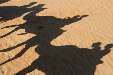 Familienreise in Oman: Kamelritt