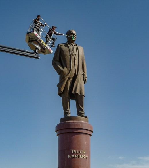 Islom Karimov war ab 1991 usbekischer Staatspräsident