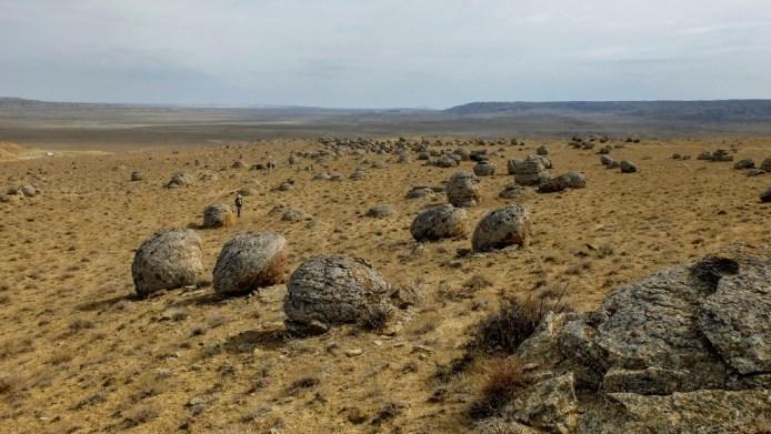Kasachstan Expedition: Steine im Torysh Tal