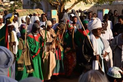religiöse Zeremonien von Anhängern des Sufismus