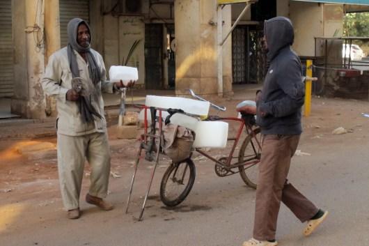 Abschied nehmen von Khartoum