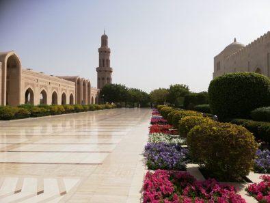 Moscheegelände in Muscat