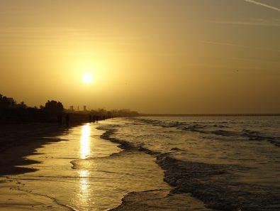 Sonnenuntergang in Qurum