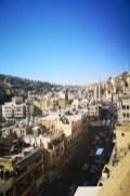 Blick vom Hotelrestaurant auf Amman