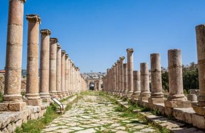 Unterwegs im römischen Gerasa