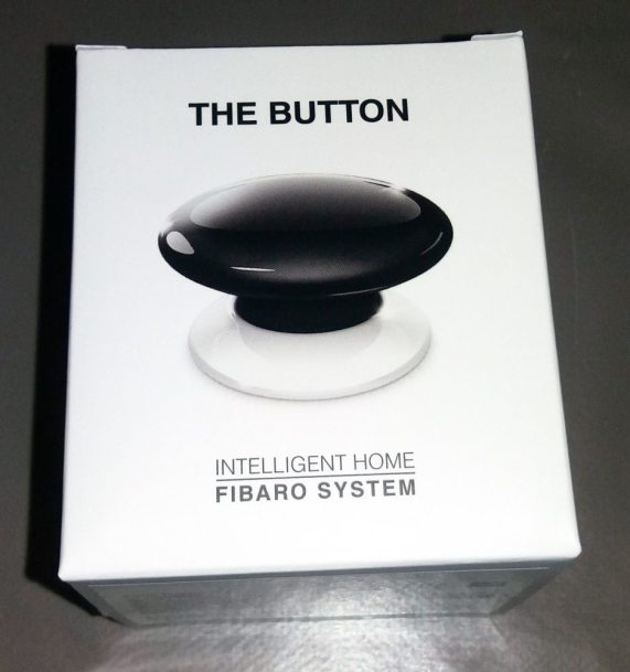"""1 Test de """"The Button"""" Fibaro sur la Eedomus"""