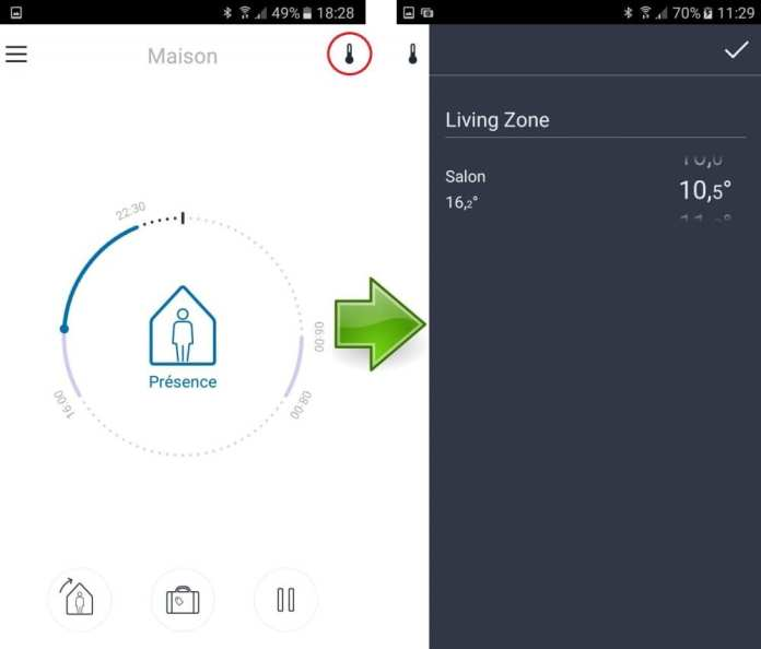 218 Le DEVIreg Smart, un thermostat connecté par Deleage / Danfoss