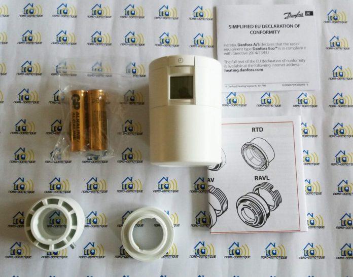 02 Test de la tête thermostatique Danfoss Eco Bluetooth
