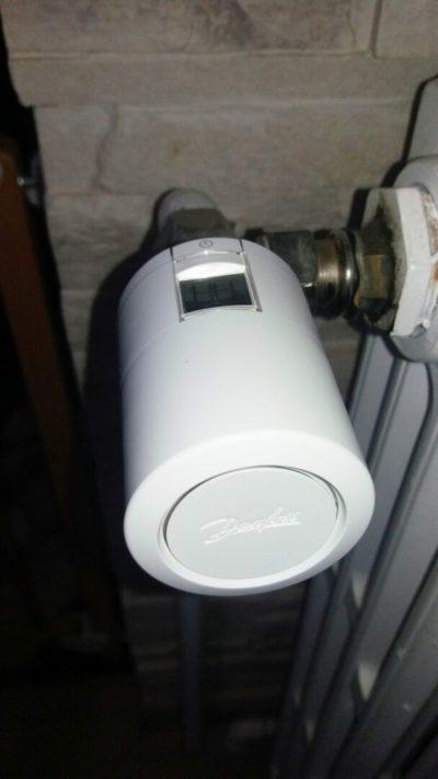 11 Test de la tête thermostatique Danfoss Eco Bluetooth