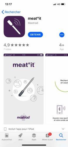meat-it-0844-231x500 Test de Meat°it la première sonde de cuisson 100% sans fil