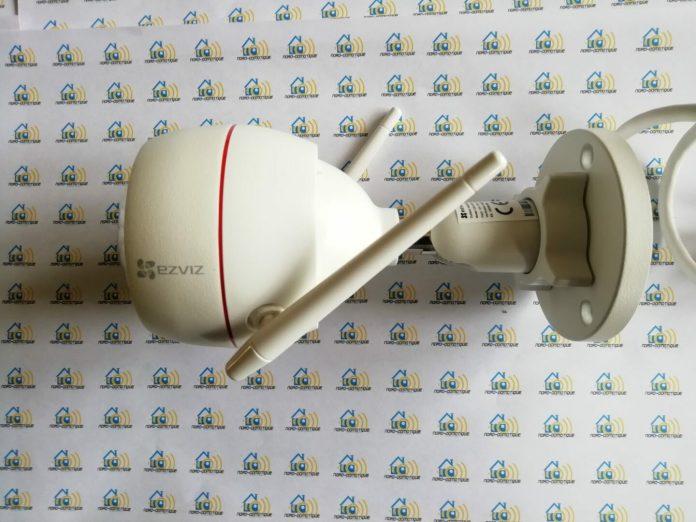 03-b Ezviz C3W, test de la caméra extérieure