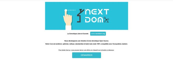 nextdom-18 NextDom, une solution domotique ouverte et libre !