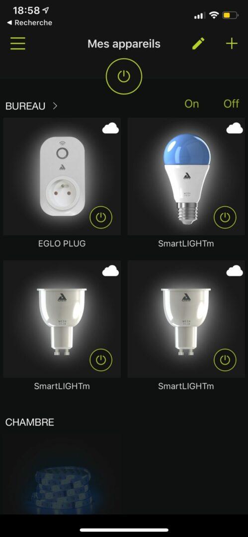 carrefour home 3614610453285 Lampe de bureau LED blanche