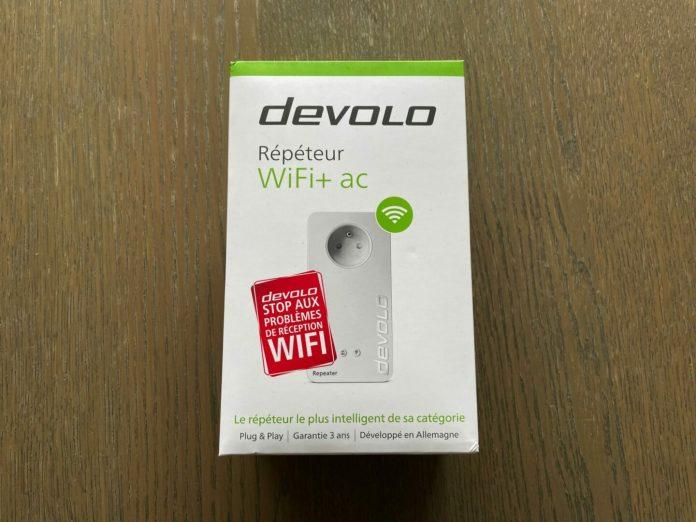 Test du devolo WiFi Repeater+ AC