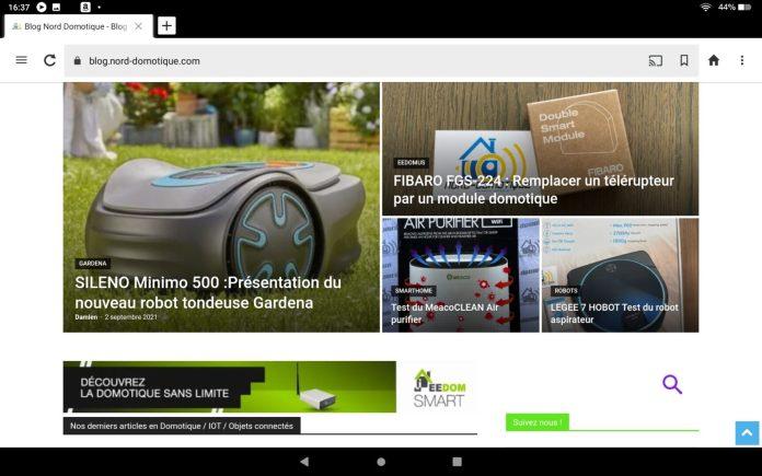 screenshot-20210902-163742 Test Fire HD 10 de chez Amazon