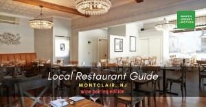 restaurants in montclair, wine pairing, amanti vino
