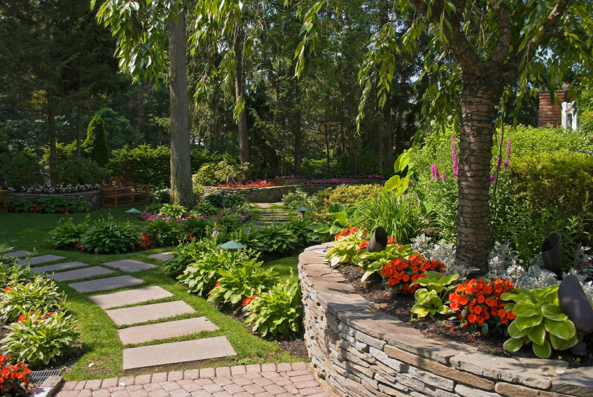 Great Landscaping Ideas in Atlanta to try -Lawn and Garden ... on Nice Backyard Landscaping Ideas id=26723