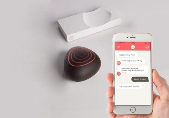 Dojo-Labs-Decorative-Pebble-Shaped-Security-System-2