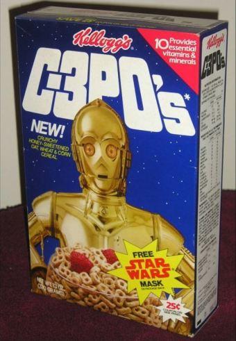 C-3po Frühstück-Cerealien