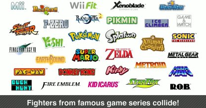 Super-Smash-Bros-franchises