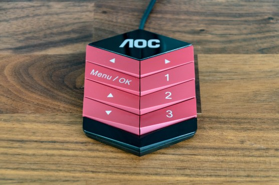AOC AG322QCX Gaming Monitor QuickSwitch Controller
