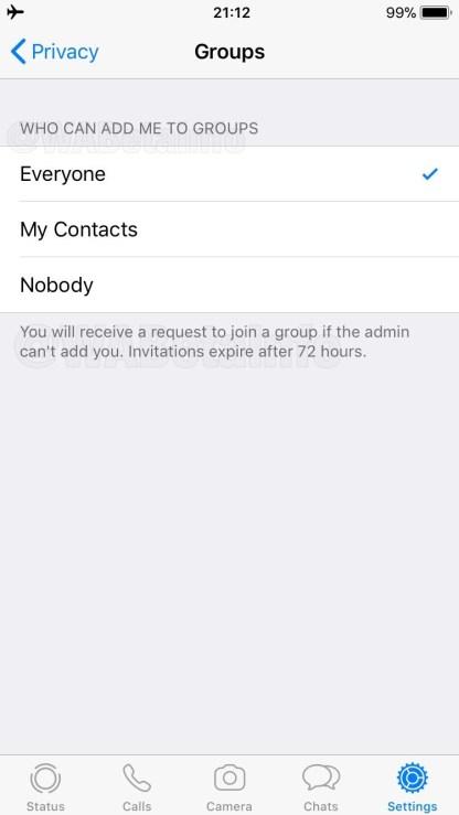 WhatsApp Gruppe II