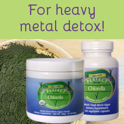 For heavy metal detox!