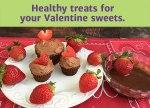 Paleo Chocolate Cupcakes & Chocolate Fruit Dip