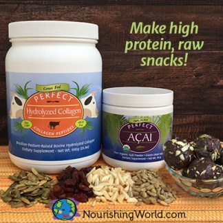 Make high protein raw snacks