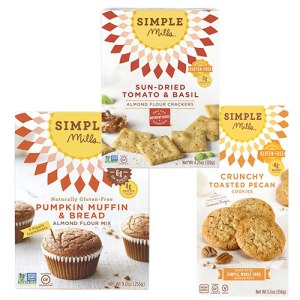 Simple Mills makes Gluten Free and Sugar Free products that are safe to eat on Dr. Erica Lepore's 21 Day Detox Plan.