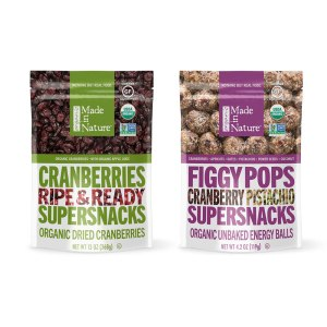 Snacks from Made In Nature that are good to eat while on the 21 Day Detox Plan from Dr. Erica LePore.