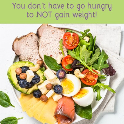 top 10 ways to NOT gain weight - eat more proteins and fats