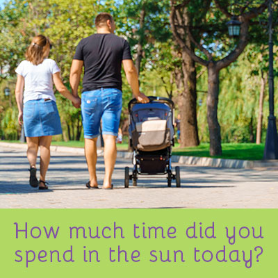 How much time did you spend in the sun today? The sun is one of the best ways to get your daily vitamin D