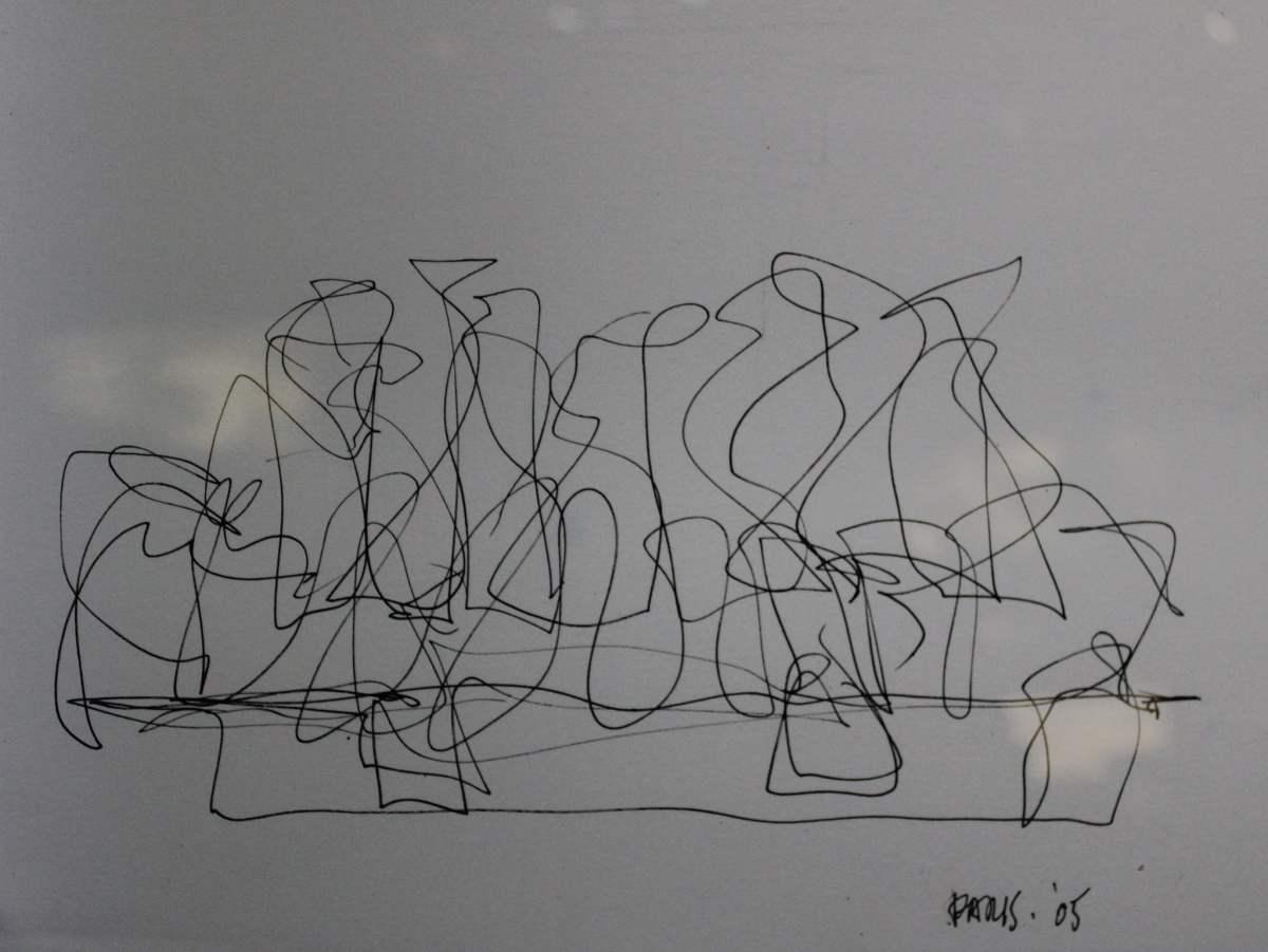 Foundation Louis Vuitton - first sketch https://www.flickr.com/photos/hagengraf/16078165565/
