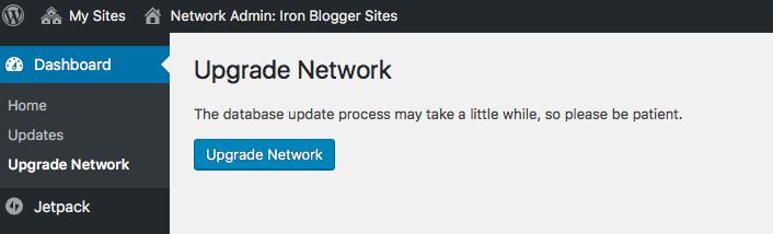 Upgrade Network