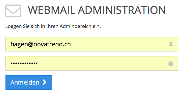 Webmail Administration