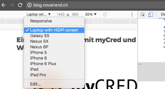 Chrome - Ausgabegeräte