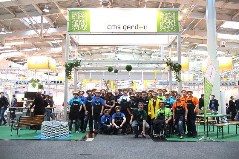 CMS Garden auf der CeBit 2014