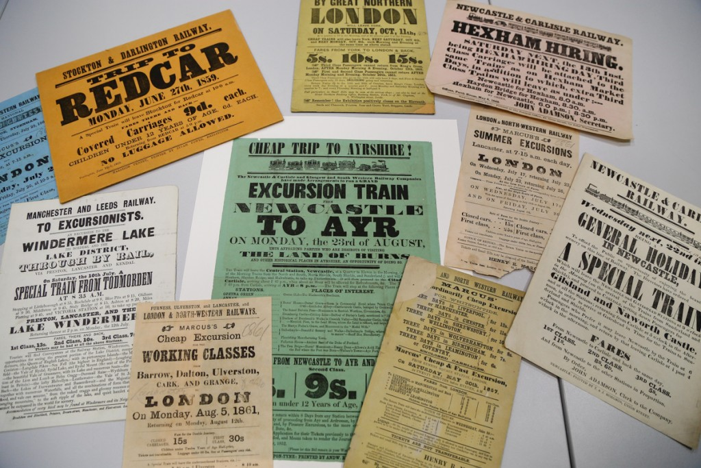 Tickets from our archives - examples of excursion tickets